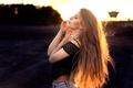 Картинка профиль, Dominika, солнечный свет, Martin Kühn