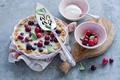 Картинка cranberry tart, клюква, ягоды
