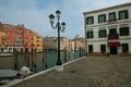 Картинка небо, дома, Италия, Венеция, канал, набережная