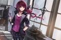 Картинка кристалл, девушка, крылья, аниме, арт, swd3e2, hoshizora miyuki