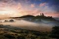 Картинка England, Dorset, National Trust Corfe Castle