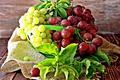 Картинка виноград, фрукты, листики, leaves, fruit, grapes