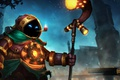 Картинка Bubbles, art, Heroes of Newerth, Steam Mage Bubbles, Steam Mage