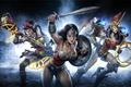 Картинка меч, щит, mmorpg, DC comics, Warner Games, Wonder Women, infinite crisis