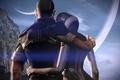 Картинка космос, джокер, Mass Effect, масс эффект, сузи, синтез