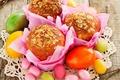 Картинка Easter, яйца, Пасха, кексы, cake, выпечка, eggs