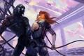 Картинка shepard, Mass Effect, Legion, Geth, synthesis