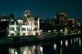 Картинка Peace Memorial, Genbaku Dome, Hiroshima, Япония, дома, фото, река