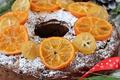 Картинка апельсин, выпечка, кекс