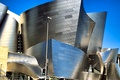Картинка небо, улица, США, Los Angeles, Walt Disney Concert Hall