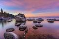 Картинка природа, камни, скалы, национальный парк, озеро Тахо