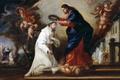 Картинка картина, мифология, Диего Гонсалес де ла Вега, Святой Рамон Нонато Венчается Христом