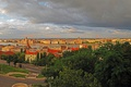 Картинка небо, город, фото, дома, сверху, Венгрия, Budapest