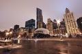 Картинка USA, америка, вечер, огни, чикаго, city, Chicago