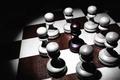 Картинка шахматы, доска, пешки