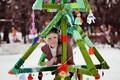 Картинка зима, девушка, снег, girl, woman, Ольга Вастикова, Olga Vastikova