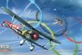 Картинка небо, кольца, самолёт, Олимпиада, plane, симулятор, MMO