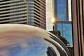 Картинка парк, здания, америка, чикаго, Chicago, сша, центр