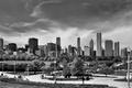 Картинка USA, Chicago, небоскребы, черно белое, чикаго