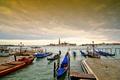 Картинка ебо, гондола, канал, Венеция, церковь, Италия, лодки