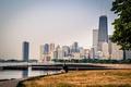 Картинка город, река, Мичиган, здания, небоскребы, Чикаго