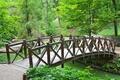 Картинка деревья, мост, природа, Украина, Умань, Национальный дендрологический парк, Софиевка