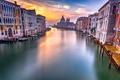 Картинка Sunrise, Venice, Grand Canal