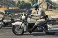 Картинка мотоциклы, полиция, майкл, Grand Theft Auto V, gta 5, тревор