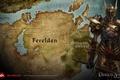 Картинка дракон, карта, dragon age, map, век, ферелден, dao