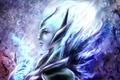 Картинка девушка, лицо, dota 2, Vengeful Spirit, Shendelzare
