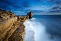 Картинка море, пейзаж, скалы, Portland, Pulpitt Rock