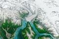 Картинка Alaska, Nature, Green, White, Ice, Glacier, Hubbard