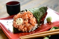 Картинка rolls, sushi, суши, роллы, начинка, японская кухня, Japanese cuisine