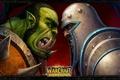 Картинка человек, орк, wow, world of warcraft, orcs and humans