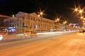 Картинка машины, город, вечер, фонари, Россия, Russia, Калуга