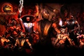 Картинка Mortal Kombat, Scorpions, Sub Zero, Raiden, Mileena, shao kahn, lu kang