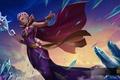 Картинка ellonia, Floral Ellonia, кристалы, магия, девушка, жезл, heroes of newerth