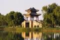 Картинка отражение, Китай, Palace, Beijing, The West Bund Of The Summer