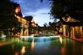 Картинка вечер, бассейн, Thailand, курорт, resort, entrance, khum phaya