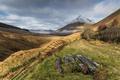 Картинка природа, горы, долина, забор
