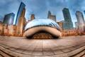 Картинка city, USA, Chicago, Illinois, Millennium Park
