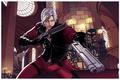 Картинка art, Capcom, dante, fan, devil may cry 2