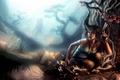 Картинка пистолет, арт, Tomb Raider, Лара Крофт, Lara Croft