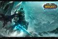 Картинка король лич, рыцарь смерти, World of Warcraft Wrath of the Lich King, Артас Менетил