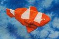Картинка бумага, фон, рыбка, оригами
