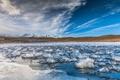 Картинка лед, небо, пейзаж, горы