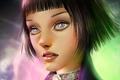 Картинка лицо, girl, Elizabeth, BioShock Infinite
