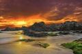 Картинка море, закат, Santa Cristina, Lloret de Mar