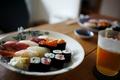 Картинка рыба, суши, роллы