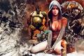 Картинка девушка, монстры, медиум, демоны, DmC, Devil May Cry 5, Kat